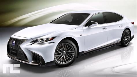 lexus ls   sport  body kit  trd japan