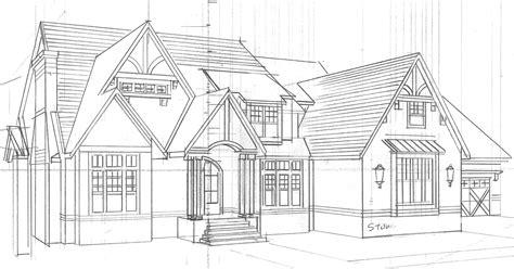 House Design Sketch Exterior  Home Plans & Blueprints