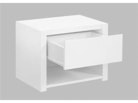 table de chevet blanc laque design table de chevet blanc laque