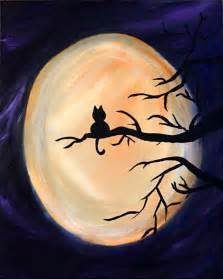 Beginner Acrylic Canvas Painting Ideas Halloween