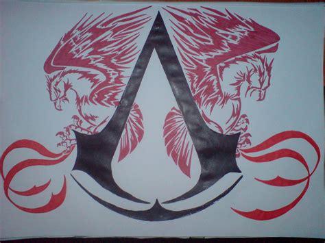 Assassins Creed Tattoo Emblem Going On My Hip(
