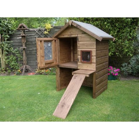 cat house designs emily luxury outdoor cat house