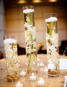 candle centerpiece wedding floating candles in glass vases the bright ideas