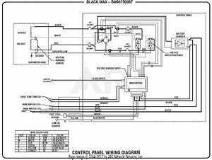 Homelite Bm907500bt 7 500 Watt Generator Mfg  No