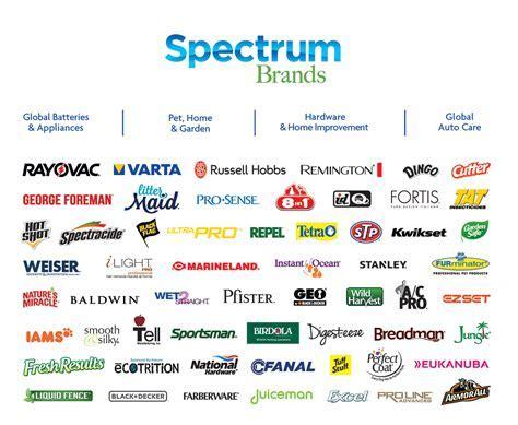 Spectrum brands Logos
