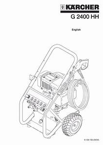Download Free Pdf For Karcher G 2600 Or Pressure Washers
