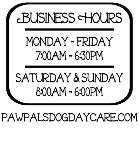 Toy Store Sign Template by Business Hours Vinyl Decal Store Hours Open Hours