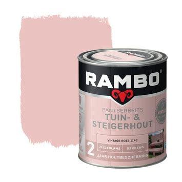 steigerhout kopen karwei rambo pantserbeits tuin steigerhout vintage roze 750 ml