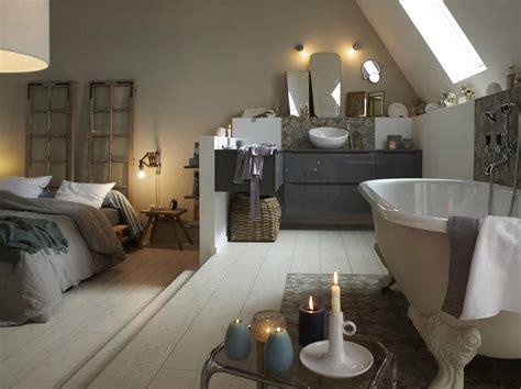 chambre avec salle de bain ouverte tout savoir sur la salle de bains ouverte sur la chambre