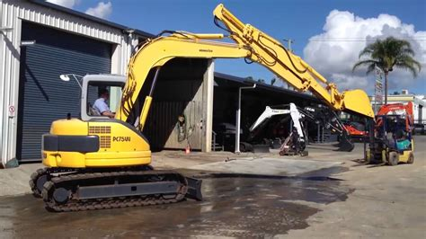 komatsu pcuu  mini excavator  sale  bmesaustralia youtube