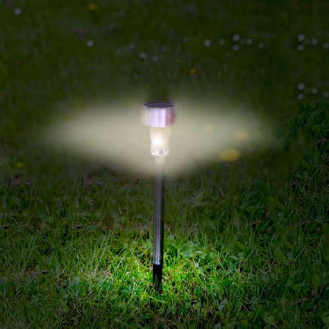 10 packet solar driveway marker lights garden zavvi