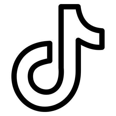 Tiktok Line icon PNG and SVG Vector Free Download