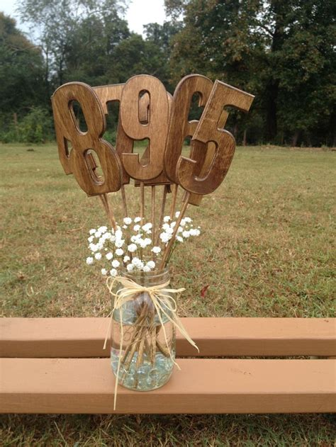 25 Best Ideas About Wooden Table Numbers On Pinterest