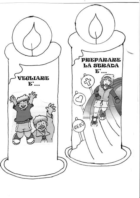 Candele Da Colorare by Snap Candele Avvento Disegno Per Bambini Tuttodisegni