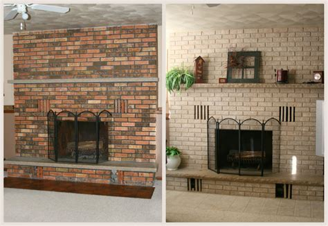 paint for brick fireplace 3 easy ideas for diy painting solutions for brick fireplace