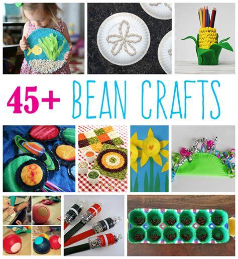 bean crafts  kids fun family crafts