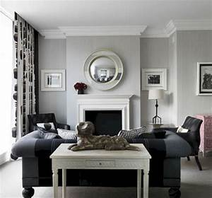 Black and white living room decor black and white living for Black and white accessories for living room