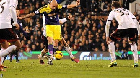 Fulham 1-2 Swansea City - BBC Sport