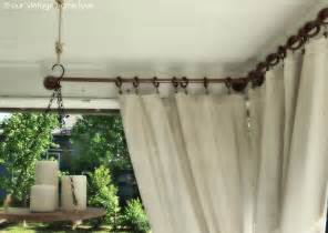 Long Shower Curtain Rings