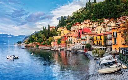 Italy Lake Como Wallpapers Countries