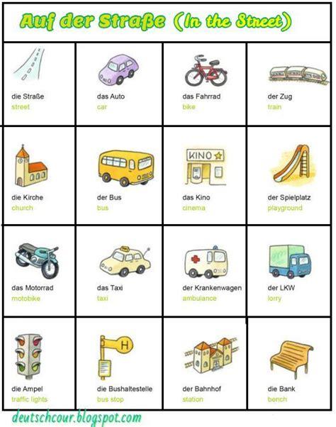 Bilder  Deutsch Lernen …  Schule Pinte…