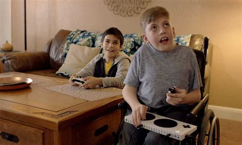 microsoft celebrates disabled young gamers touching super bowl spot
