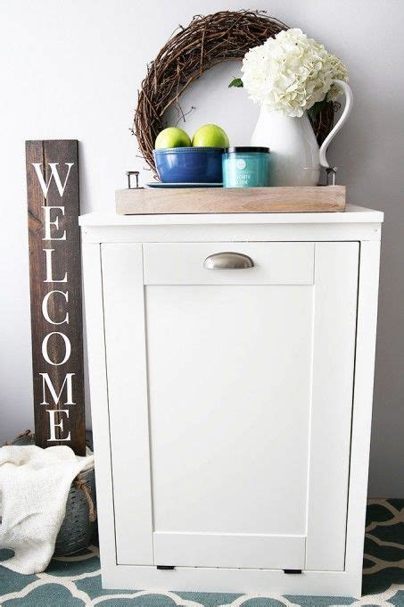 Trash Can Cupboard by Best 25 Trash Can Cabinet Ideas On Cabinet