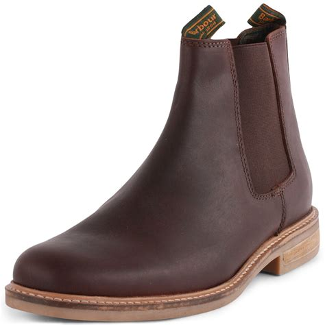 Barbour Farsley MFO0244BR51 Mens Chelsea Boots in Brown