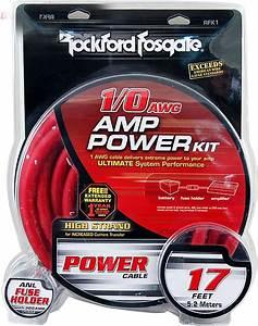 Rockford Fosgate Rfk1 1  0 Gauge Amplifier Power