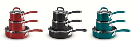 tramontina pc stackable cookware set  colors   usa  ebay