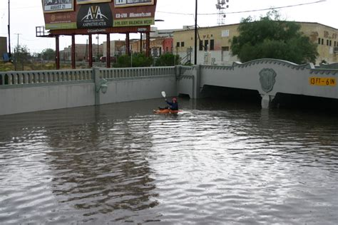 panoramio photo of tucson az monsoon flooding