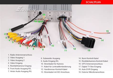 Pioneer Touch Screen Wiring Diagram by Es7901ge 7 Quot 1din Hd Car Dvd Usb Sd Player 3g Radio Gps