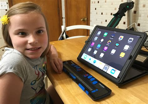 ios devices  focus braille displays perkins elearning