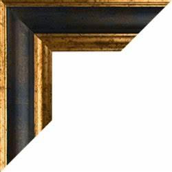 Bilderrahmen Auf Maß : bilderrahmen nach ma in blau gold fotorahmen onlineshop ~ A.2002-acura-tl-radio.info Haus und Dekorationen