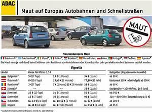 Maut Italien Berechnen Adac : vignettenpflicht und maut in europa wo sie was zu zahlen ~ Themetempest.com Abrechnung