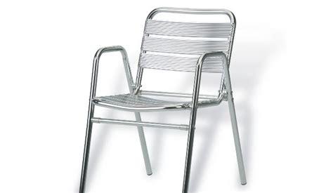 silla aluminio exterior