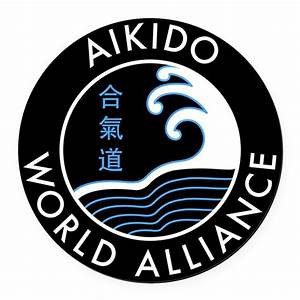 awa logo round car magnet by aikidoworldalliance With kitchen colors with white cabinets with round sticker logo