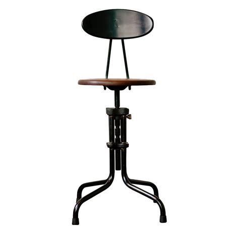 Brexton Adjustable Height Cast Iron Industrial Desk Dining