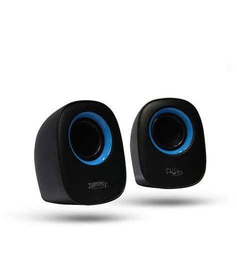 buy zebronics pebble  computer speakers blue