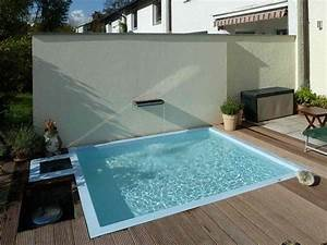Kleiner Pool Terrasse : kleiner pool im garten ~ Michelbontemps.com Haus und Dekorationen