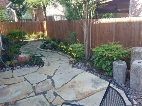 Flagstone Patio Designs by Flagstone Patio Installation Fort Worth Hardscapes