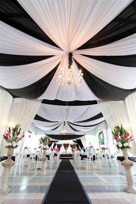 deco de salle mariage noir et blanc noir et blanc un marriage toujours 233 l 233 gant en 55 id 233 es