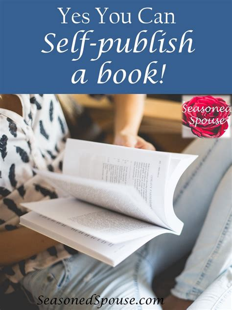 How To Selfpublish A Book  The Seasoned Spouse