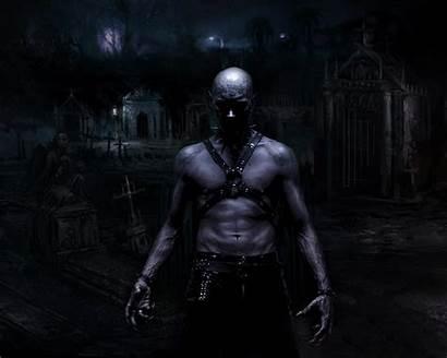 Scary Dark Vampire Hell