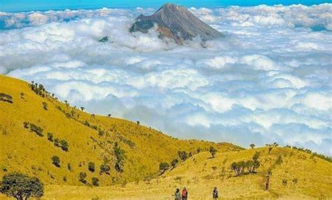gambar gunung  daerah sekitar wonosobo nama wisata