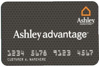 ashley furniture homestore credit card login payment
