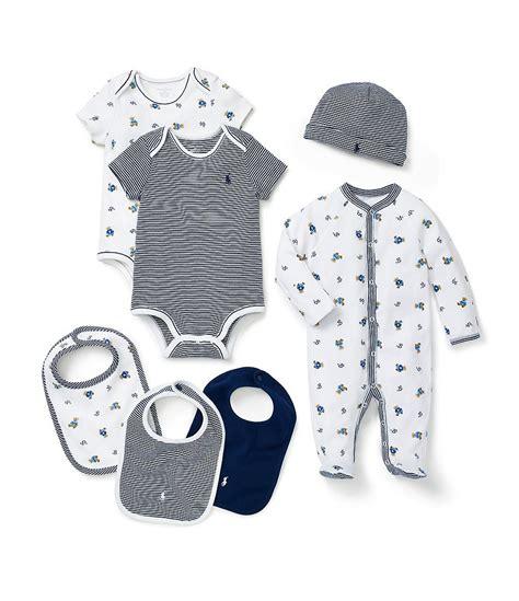 ralph lauren childrenswear baby boys newborn footed