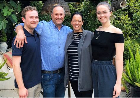 Kamala is married to fellow attorney doug emhoff. Kamala Harris' Stepson Cole Emhoff Playfully Responds to SNL Leaving Him Out of Family Dinner Skit