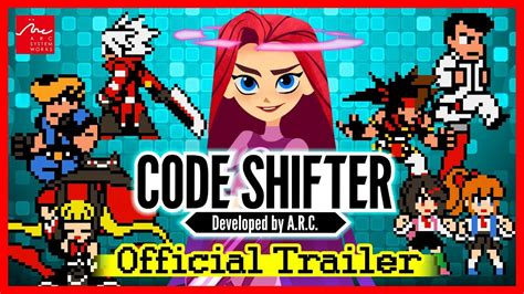 arc system works anuncia code shifter game crossover