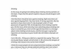 High School And College Essay Speech On Quitting Smoking Essay On Eating Disorders Persuasive Essay Paper also Example Of A Proposal Essay Speech On Quit Smoking Cosmetic Surgery Essay Speech On Quit Smoking  Thesis For Compare Contrast Essay